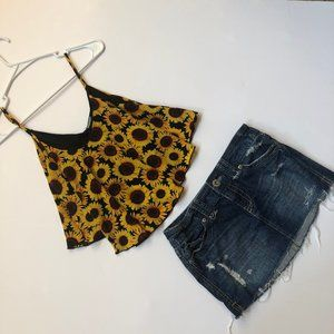 Charlotte Russe Top S & Aeropostale Skirt  3/4